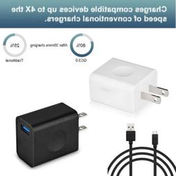 quick charge3 0 usb wall charger adapter