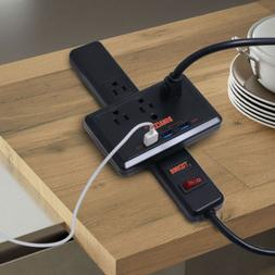 With Quick wall Protector Charge Strip Outlet Surge 3 Power