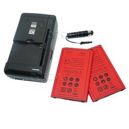 2x 2700mAh Replacement Standard Battery Universal Dock |Wal