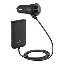 Belkin Road Rockstar with 4 USB Ports for Front and Backseat