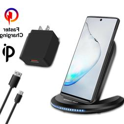 For Samsung Galaxy Note 10 Plus Qi Wireless Fast Charger Cha