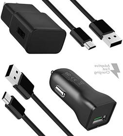 Samsung Galaxy S7 Adaptive Fast Charger Micro USB 2.0 Cable