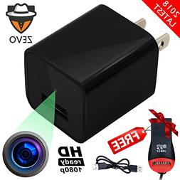 Spy Camera Charger Hidden Wall Adapter - Motion Detection -