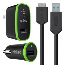 Belkin SuperSpeed Charger Kit with Micro USB 3.0 Cable, Comp