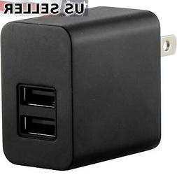 5V 2100mA Universal Home Wall AC to 2-Port USB Adapter Charg
