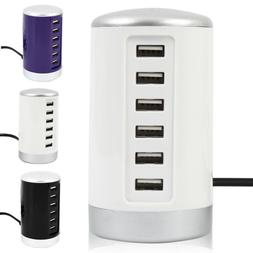 Universal Multi Port USB Travel Wall Charger Charging Statio