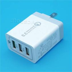 Universal Travel 3-Port QC3.0 Desktop Home Rapid Charger Com