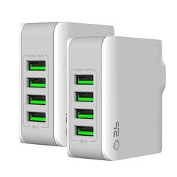 Silicon Power 4-Port USB Wall Charger 22W 4.4A Output with F