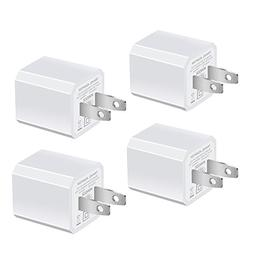 USB Wall Charger, HONGGE 5V/1A Universal Portable Travel Ada