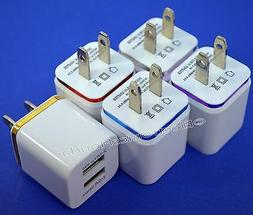 USB wall Fast Charger Adapter 1A 2A 5V  For Android / Galaxy