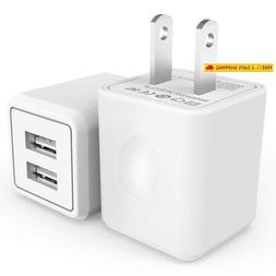 Kerrkim Wall Charger, 2.1A 12W Dual Port Portable Universal