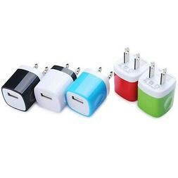 Wall Charger, Kakaly 5-Pack Universal Home Travel USB 1 Amp
