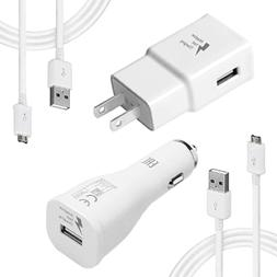 Wall Charger Adaptive Fast Charger Kit for Samsung Galaxy S7