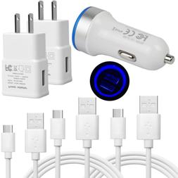 Wall Fast Car Charger for Samsung Galaxy Note 9 8 S8 S9 S10e