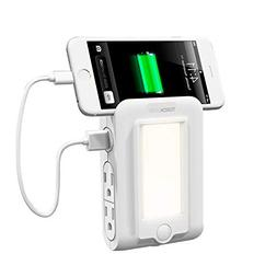 TORCHSTAR Wall Mount Charger, 2 USB Ports & 4 AC Outlets Cha
