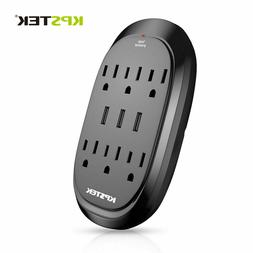 Century Wall Mount Surge Protector with Triple USB Charging