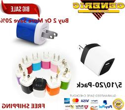 Wholesale Lot Wall Charger Charging Block Phone USB Cube iPh